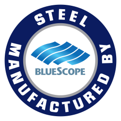 bluescope-steel-manufactured-logo