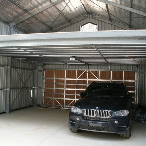 Custom Shed/Garage - Mezzanine Floor